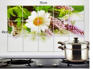 Combo 03 giấy dán bếp chịu nhiệt cỡ đại 60 x 90 cm