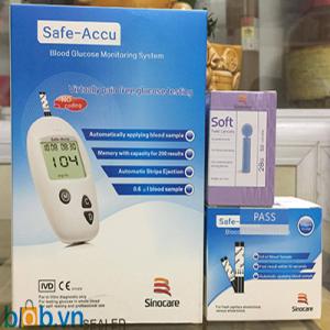 Máy đo đường huyết Safe-Accu