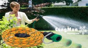 Vòi xịt nước đa năng chiều dài dây 3,6m, nhỏ gọn, tiện dụng